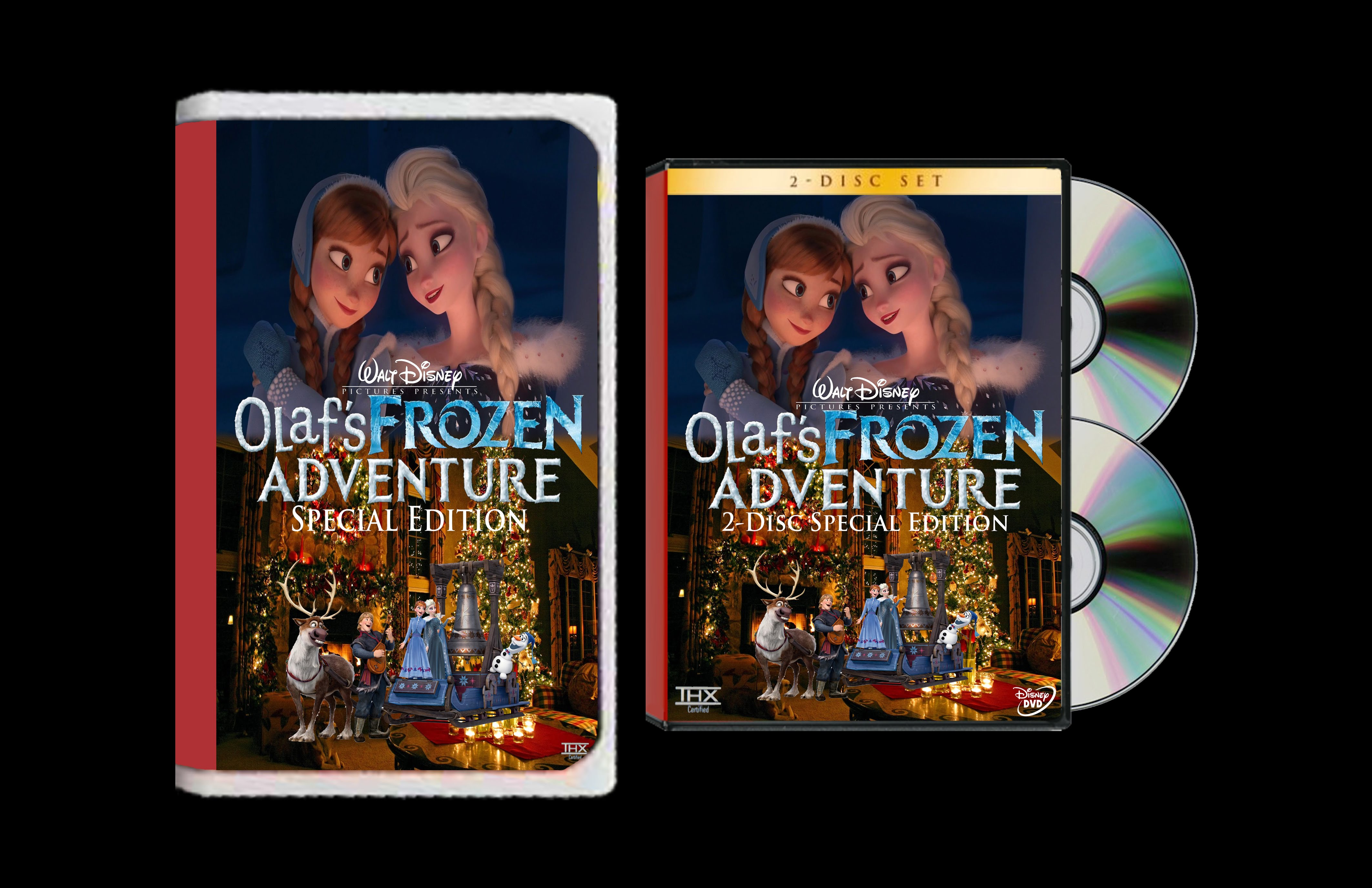 Walt Disney's Olaf's Frozen Adventure: Special Edition (2004) On VHS & DVD
