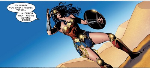 Wonder Woman karatasi la kupamba ukuta entitled Wonder Woman
