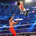 Wrestlemania 34 ~ AJ Styles vs Shinsuke Nakamura - wwe photo