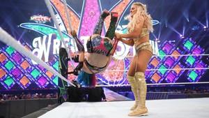 Wrestlemania 34 ~ charlotte Flair vs Asuka