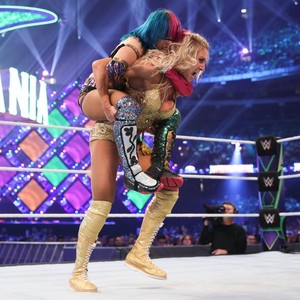 Wrestlemania 34 ~ 샬럿, 샬 롯 Flair vs Asuka