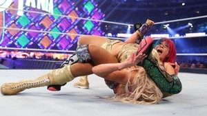 Wrestlemania 34 ~ carlotta, charlotte Flair vs Asuka
