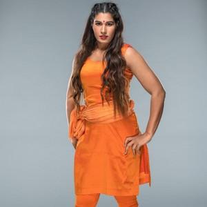 Wrestlemania 34 Ring Gear ~ Kavita Devi
