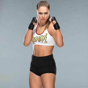Wrestlemania 34 Ring Gear ~ Ronda Rousey