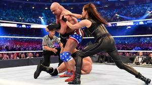 Wrestlemania 34 ~ Stephanie/Triple H vs Ronda/Kurt
