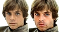 Young Mark Hamill & His Look-alike Sebastian Stan - star-wars fan art