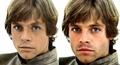 Young Mark Hamill & His Look-alike Sebastian Stan - star-wars fan art