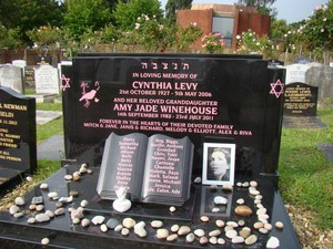 amy winehouse grave
