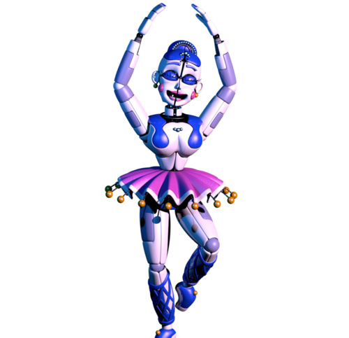 Five Nights at Freddy's wallpaper called ballora