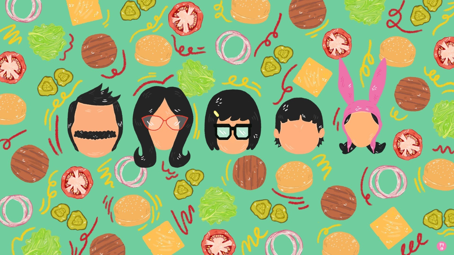 Bob S Burgers Wallpapers Ari Rachel Wallpaper