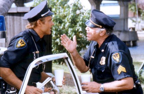 Bud Spencer karatasi la kupamba ukuta entitled deux super flics due superpiedi quasi piatti two super cops 1977