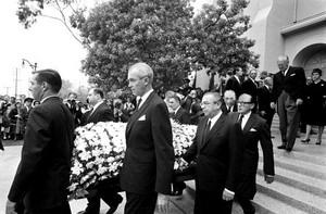 Gary Cooper's Funeral In 1961