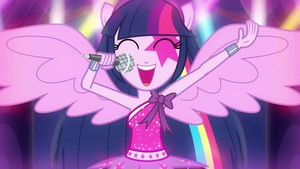 equestria girls my little gppony, pony equestria girls upinde wa mvua rocks movie karatasi la kupamba ukuta 26 40949224