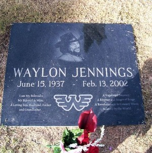 Gravesite Of Waylon Jennings