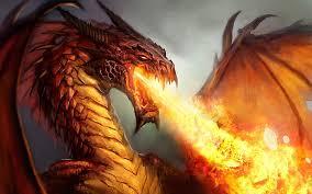 ngọn lửa, chữa cháy dragon