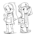 gravity falls by maemukirokettodan97 d53s3dr - warriors-novel-series photo