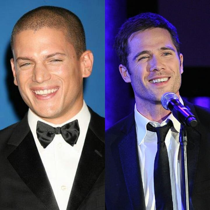 luke macfarlane and wentworth miller-smile - wentworth and ...