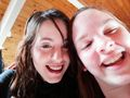 me and my sister (aka Werecoyote24) - haleydewit photo