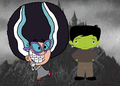 tootie as the bride of frankenstein - the-fairly-oddparents fan art