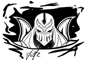 zed sticker by zetsubow d6w4lgp