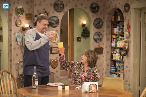 Roseanne वॉलपेपर titled 10x08 - Netflix and Pill - Dan and Roseanne