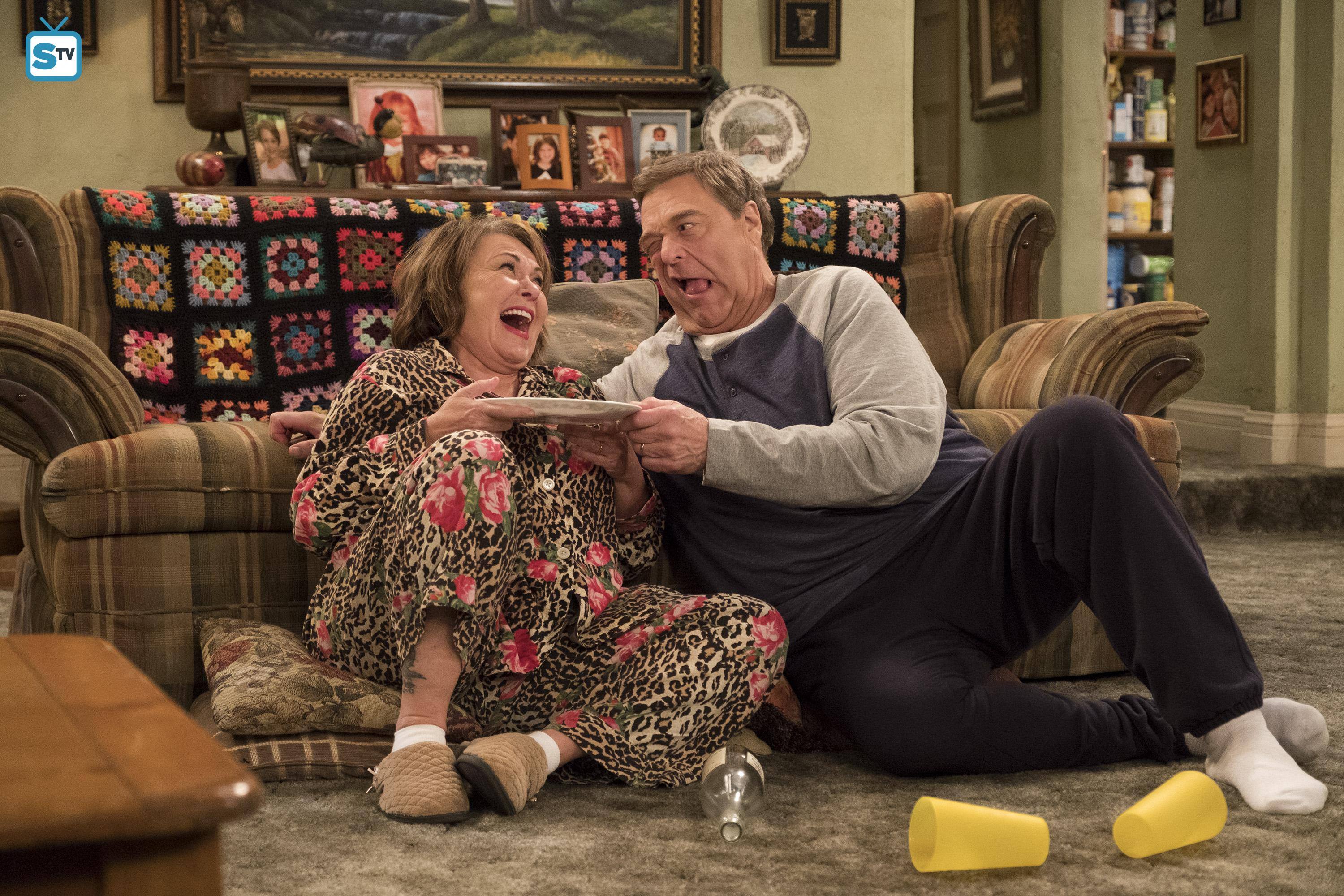 10x08 - Netflix and Pill - Dan and Roseanne