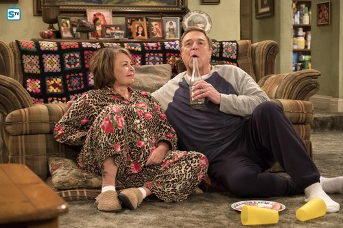Roseanne achtergrond titled 10x08 - Netflix and Pill - Dan and Roseanne