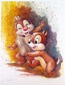 Chip And Dale - disney fan art