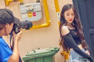 (G)I-DLE 'I AM' جیکٹ Shooting Behind (Shuhua)