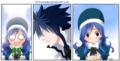 *Gray X Juvia : Fairy Tail* - anime photo