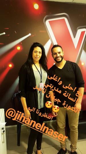 جيهان الناصر وعصام سرحان MBC The Voice