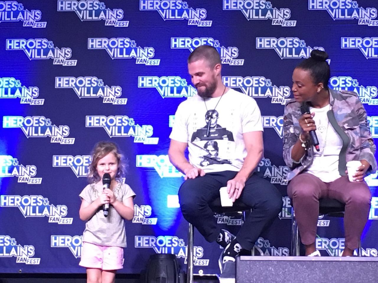 """My dad's the Green Arrow"""