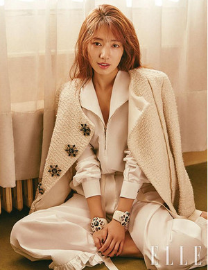 Park Shin Hye for Elle