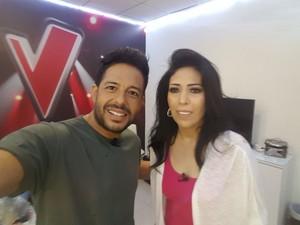 جيهان الناصر ومحمد حماقي