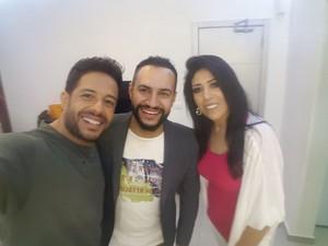 جيهان الناصر ومحمد حماقي وعصام سرحان