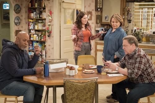 Roseanne वॉलपेपर titled 10x09 - Knee Deep - Chuck, Roseanne and Dan