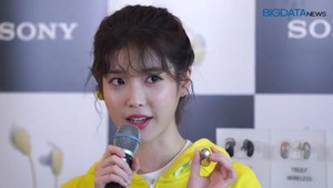 190523 IU at Sony Product Launch Photo Event