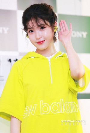 190523 iu at Sony Product Launch foto Event