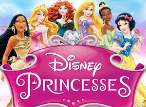 6 Princesses with the Logo