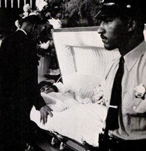 Dinah Washinton's Funeral In 1963