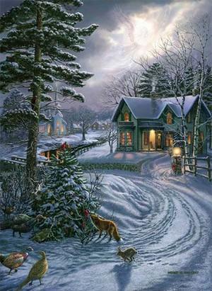 7ede9e3c89775d9e4de80d20b0feda2b christmas scenes christmas art