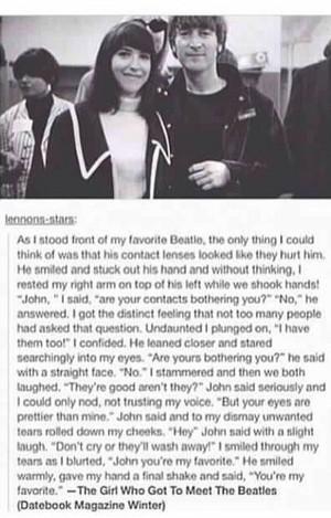 A shabiki meets John Lennon