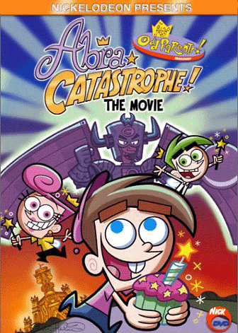 The Fairly OddParents karatasi la kupamba ukuta entitled AbraCatastrophe! The Movie