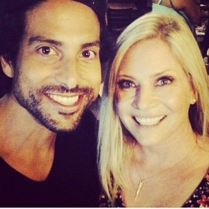 Adam Rodriguez and Emily Procter