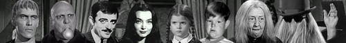 The Addams Family 1964 photo called Addams Family banner