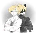 Adrien/Chat Noir - miraculous-ladybug fan art