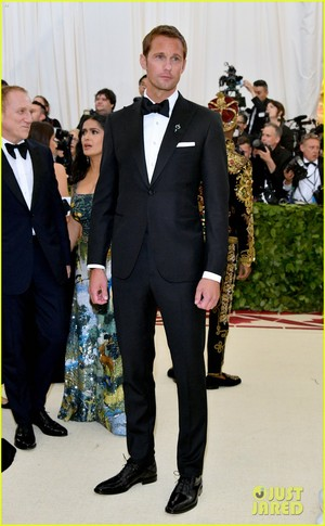 Alexander Skarsgard at Met Gala 2018