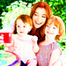 Alyson, Satyana and Keeva - alyson-hannigan icon