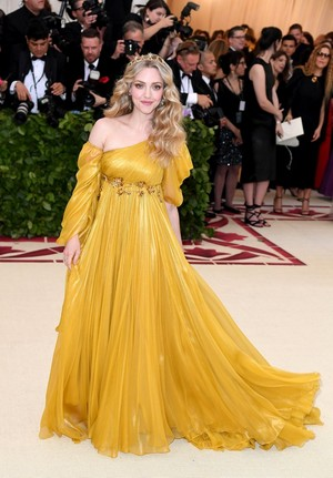 Amanda at the 2018 Met Gala