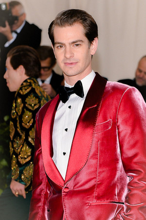 Andrew Garfield attends the Heavenly Bodies: Fashion